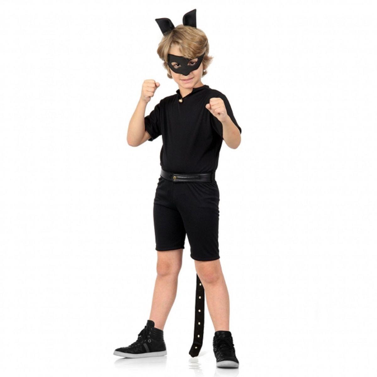 Fantasia Cat Noir Infantil