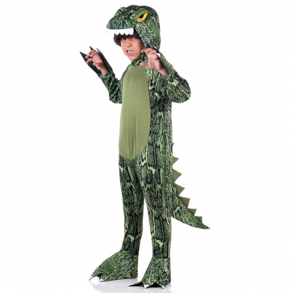 Fantasia Dinossauro Rex Infantil