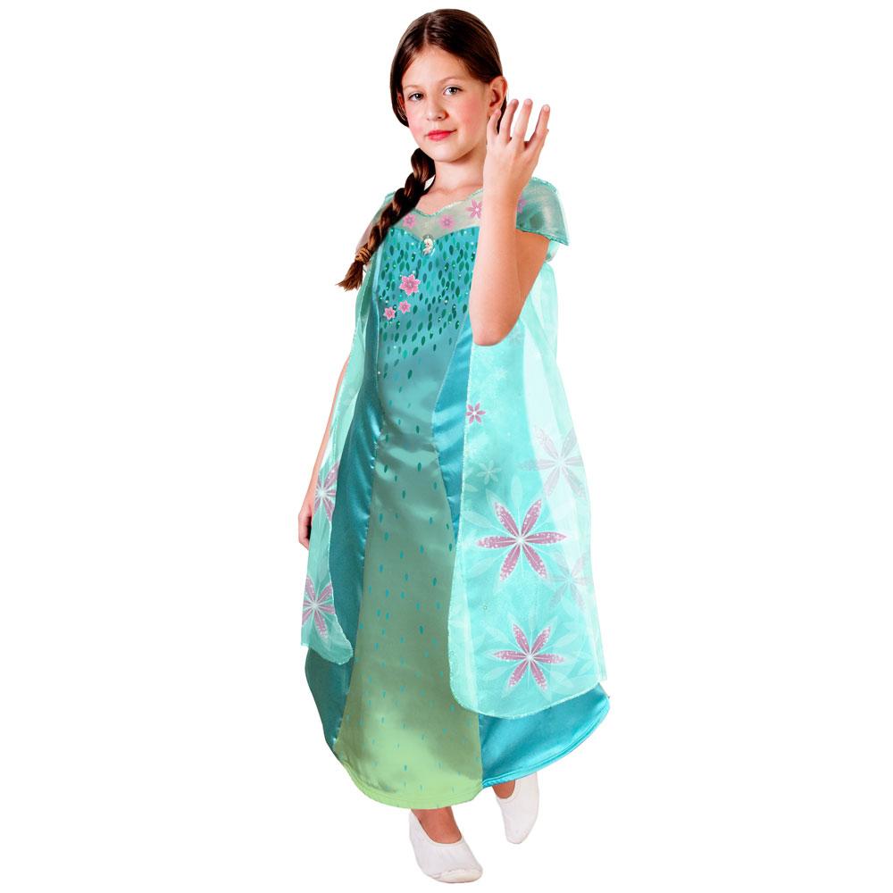 Fantasia Elsa Infantil Frozen Fever