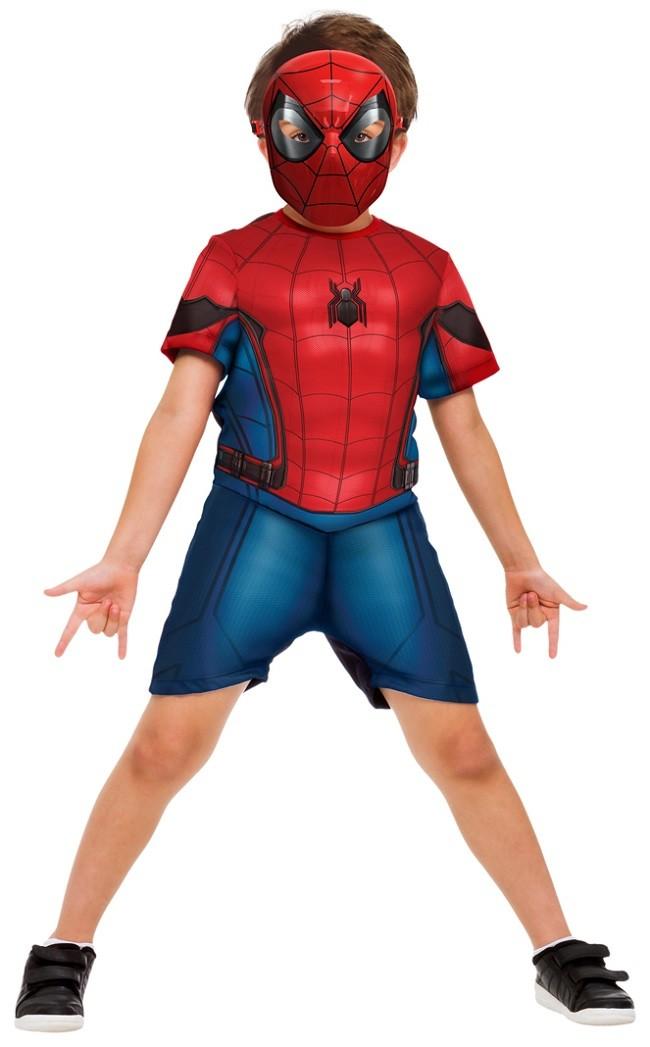 Fantasia Homem Aranha Infantil com Músculos