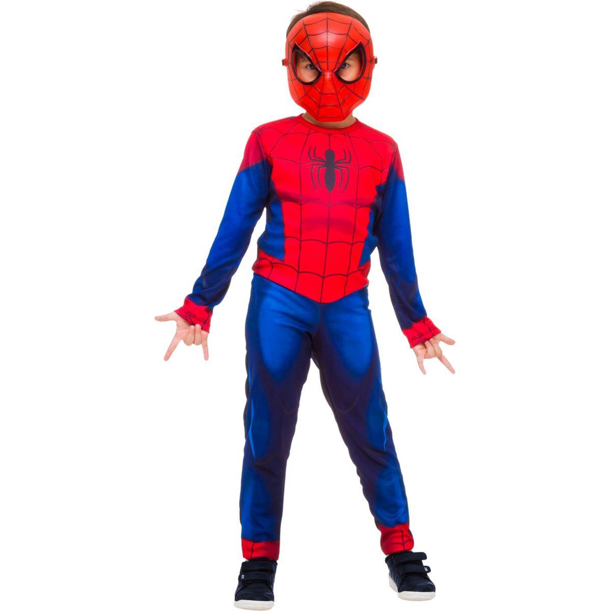 Fantasia Homem Aranha Infantil Longa