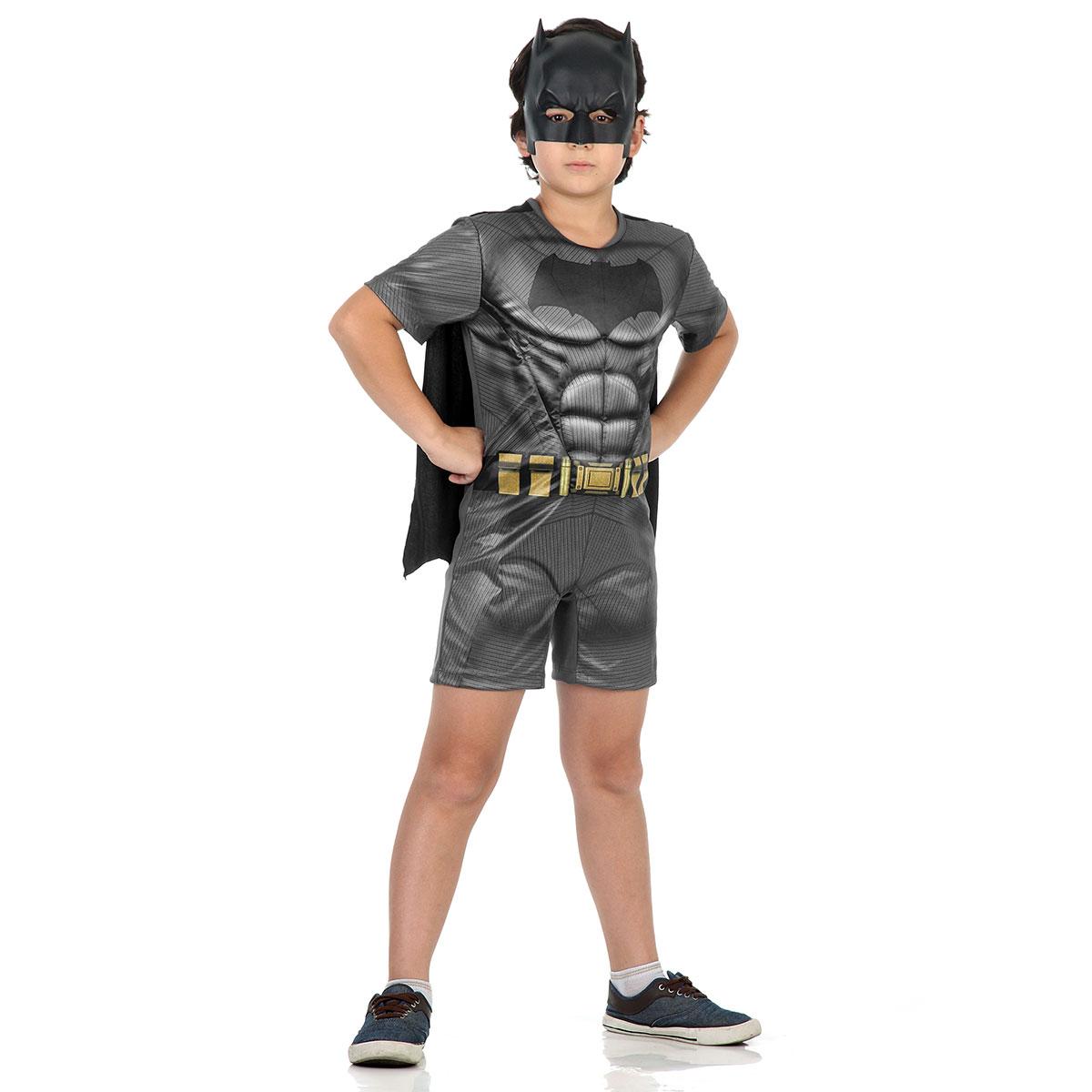 Fantasia Batman Infantil com Músculos