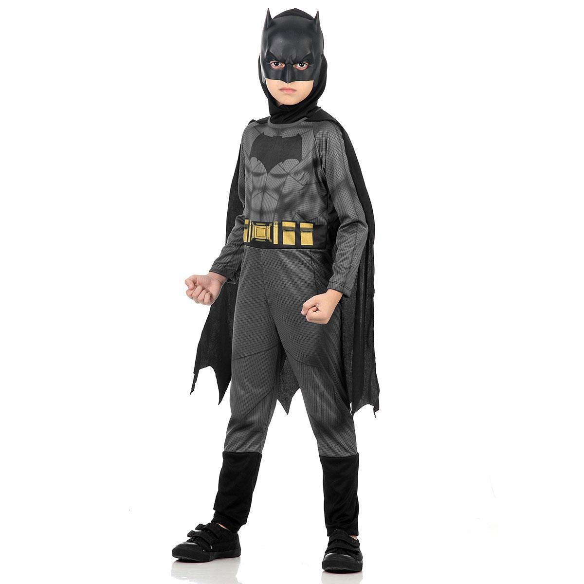 Fantasia Batman Infantil Longa