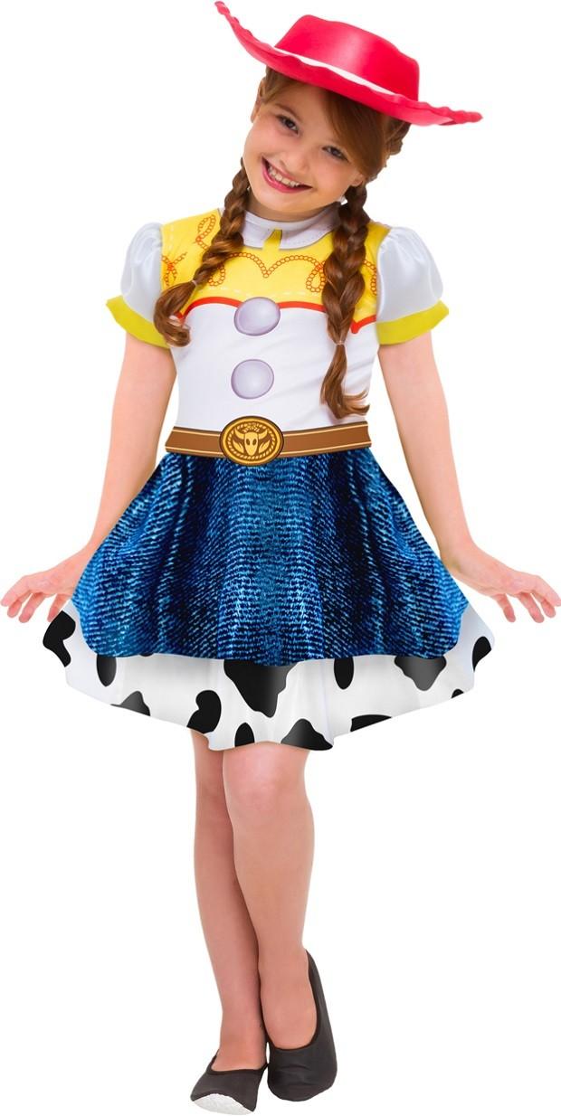 Fantasia Jessie Infantil Vestido