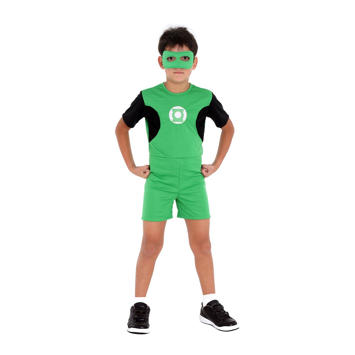 Fantasia Lanterna Verde Infantil Pop