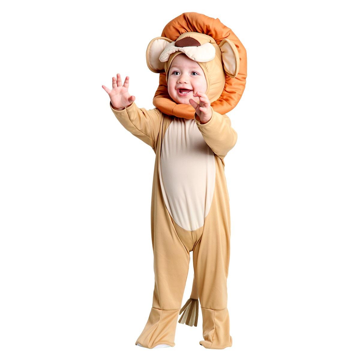 Fantasia Leão Bebê Animais