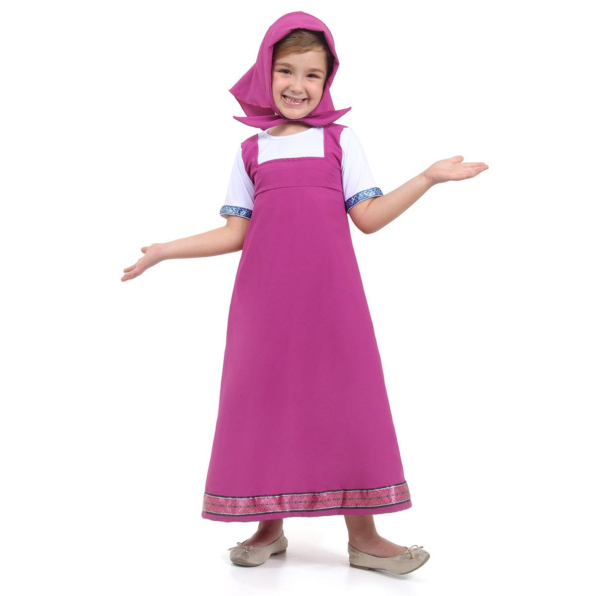 Fantasia Masha Infantil