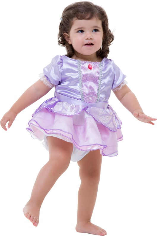 Fantasia Princesinha Sofia Bebê