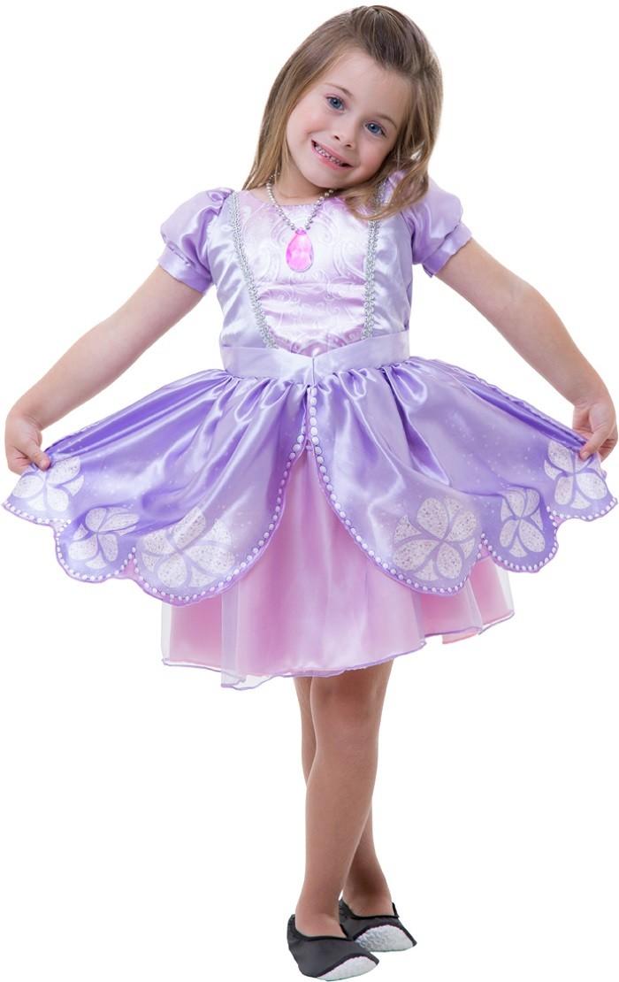 Fantasia Princesinha Sofia Infantil