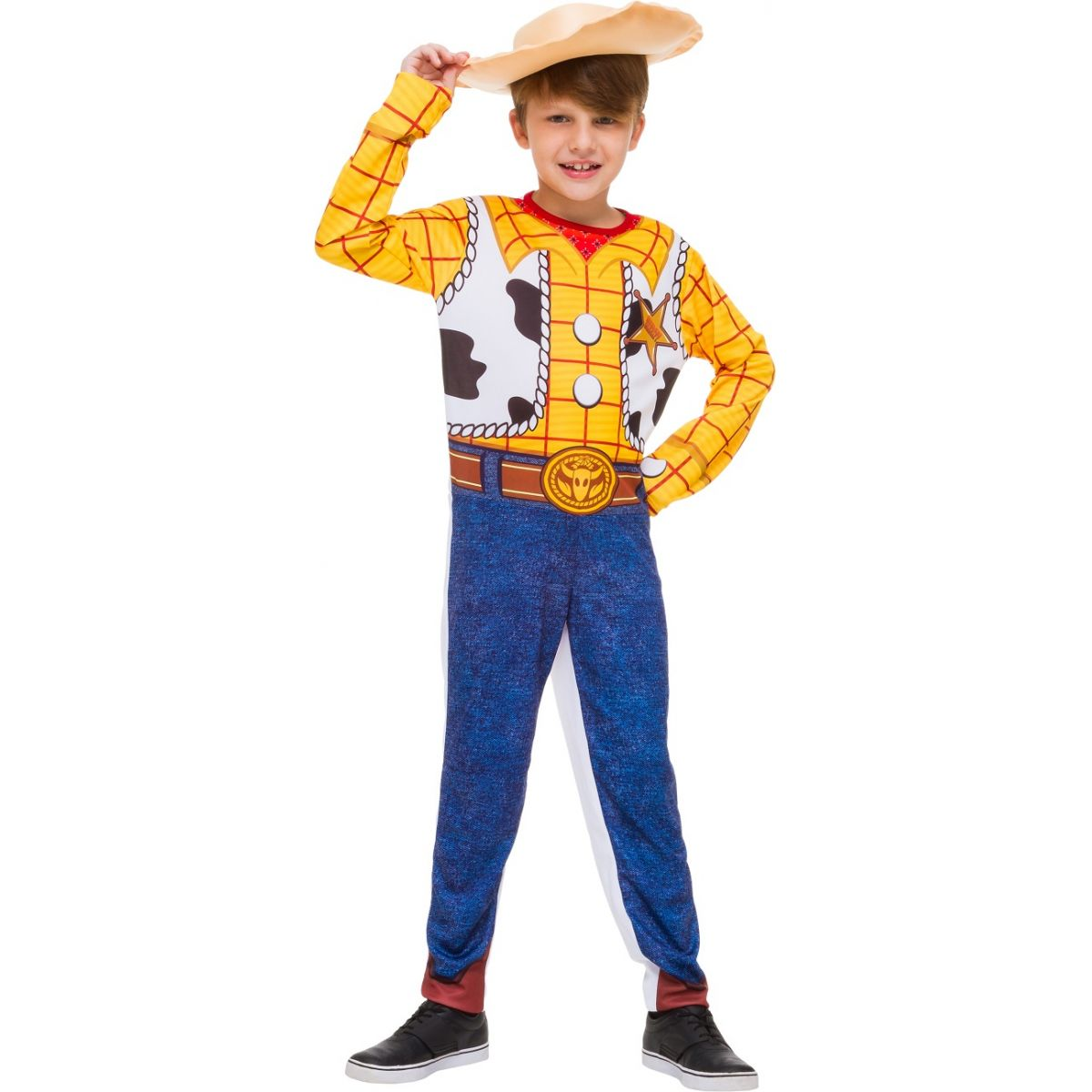 Fantasia Woody Infantil Longa
