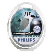 Kit Lampadas Philips Extreme Vision H7 - Dobro Alcance