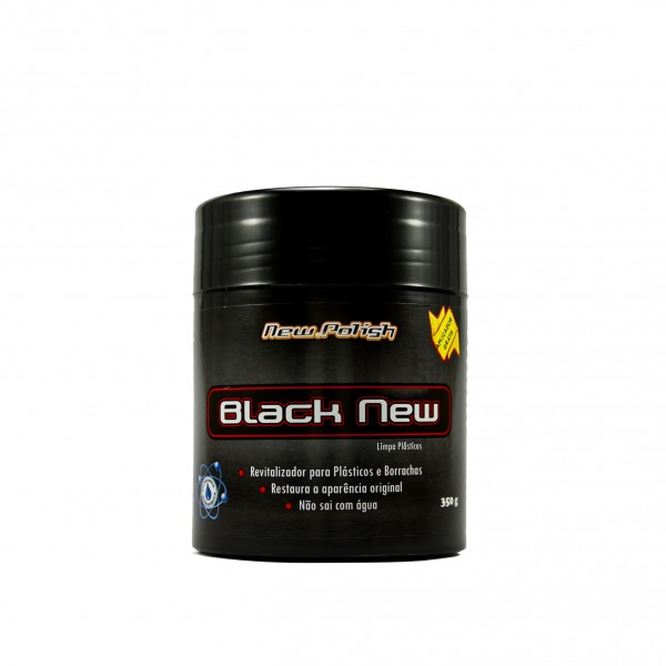 BLACK NEW PARA PLÁSTICOS 350 G NEW POLISH