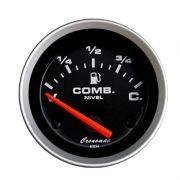 Manômetro indicador Nível de Combustível Cronomac 52MM Sport
