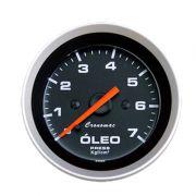 Manômetro Pressão de Óleo Cronomac 52MM  Sport