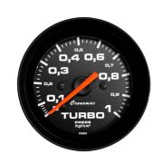 Manômetro Pressão Turbo Cronomac 52MM Street