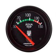 Manômetro Temperatura  Água Cronomac  60MM GM SS SERIES