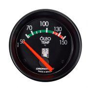Manômetro Temperatura  Óleo  60MM GM SS SERIES