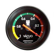 Manômetro Vacuometro 60MM GM SS SERIES