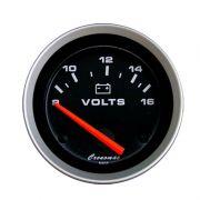 Manômetro Voltimetro Cronomac 52MM Sport