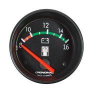 Manômetro Voltimetro Cronomac 60MM GM SS SERIES