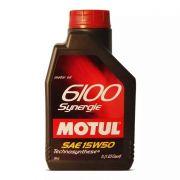 ÓLEO LUBRIFICANTE PARA O MOTOR MOTUL 6100 SYNERGIE 15W50 (4X4)