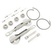 Trava de Capo funcional 100% Aço Inox SPA (Kit completo)