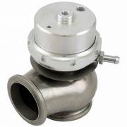Válvula Wastegate SPA Boosted 45mm regulagem mecânica - Fixação V-Band