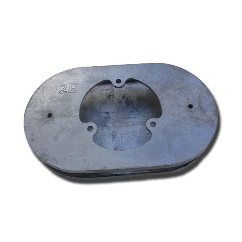 Base Para Carburador 2E/3E  em Alumínio