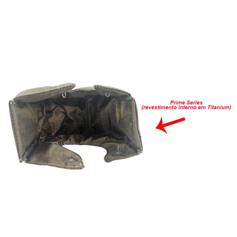 Protetor Térmico de Turbina Titanium para turbos T3 Prime Series