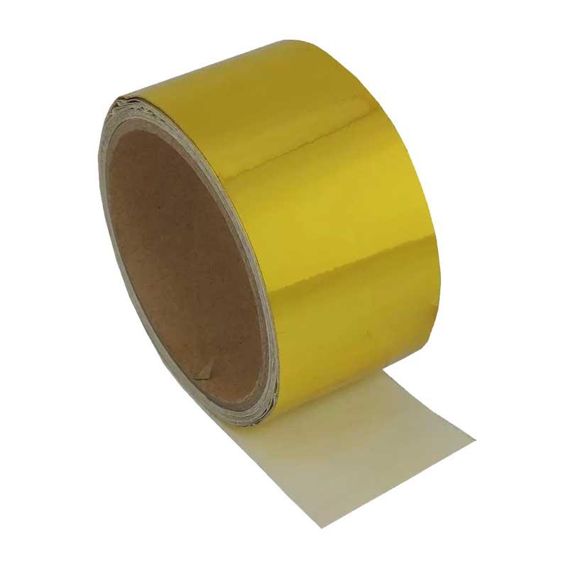 Fita adesiva refletora térmica de alta performance Reflect Gold - 5CM X 5M - SPA TURBO