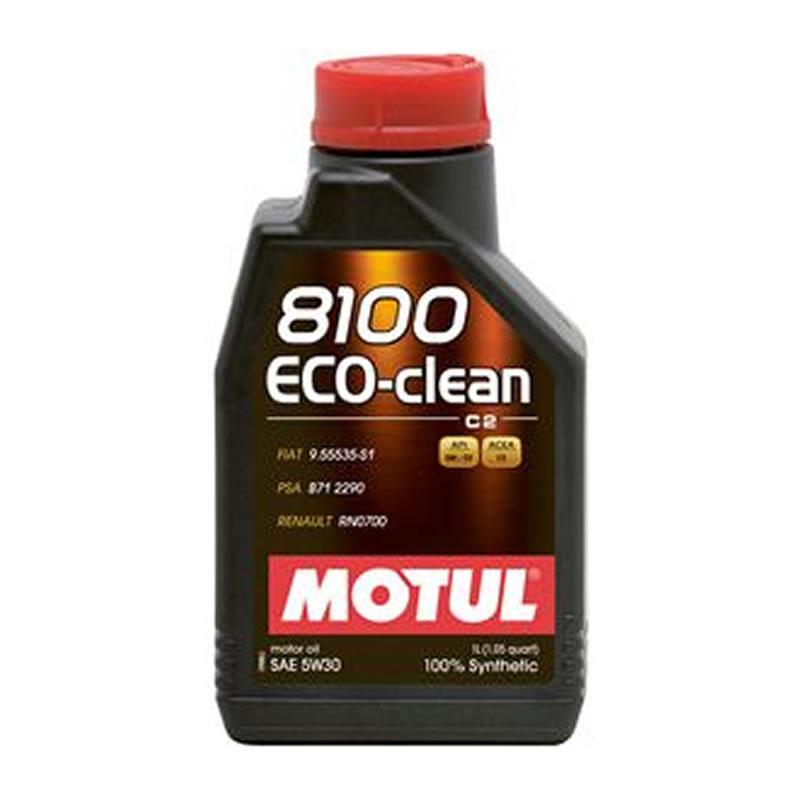 LUBRIFICANTE PARA O MOTOR MOTUL 8100 ECO-CLEAN 5W30