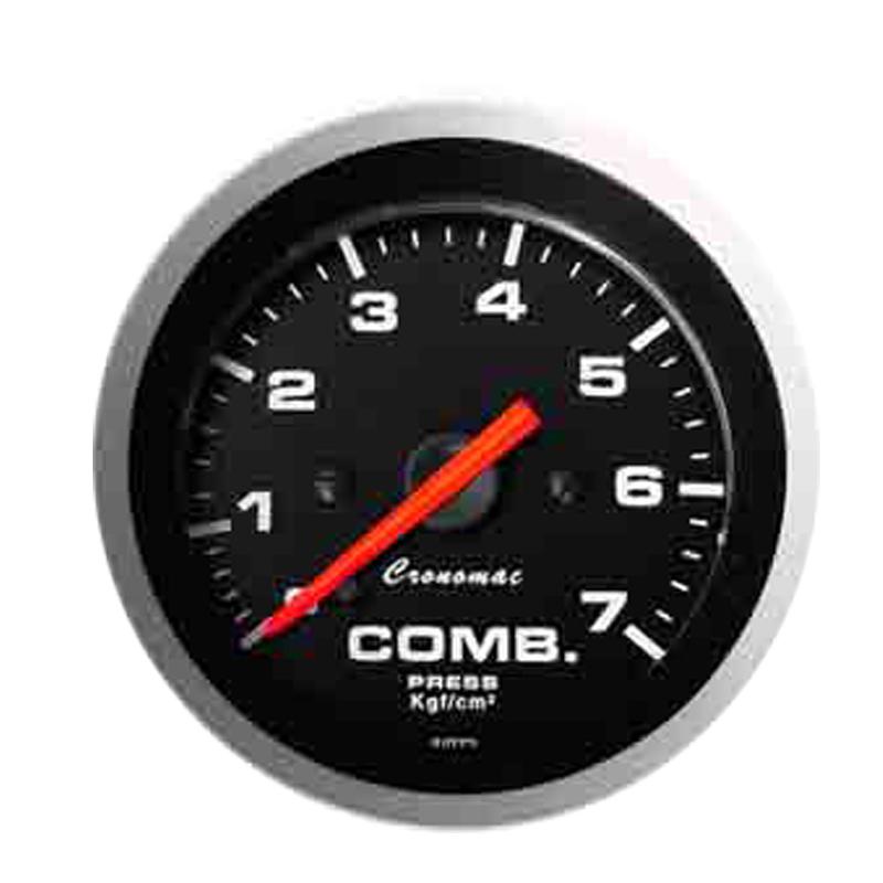 Manômetro Pressão de Combustível Cronomac 52MM  - Sport