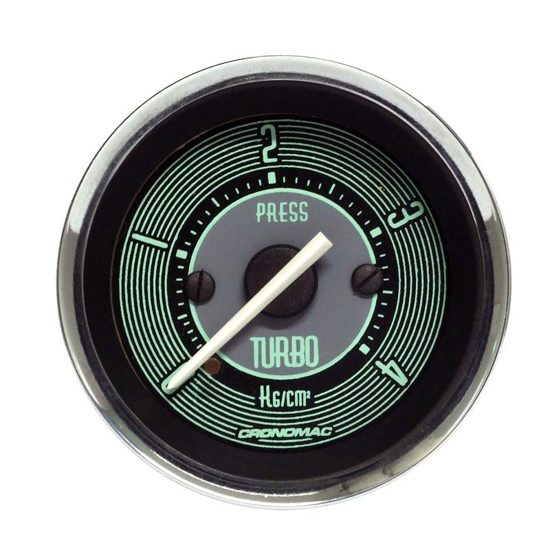 Manômetro Pressão Turbo Cronomac 52MM  VW Volks Line