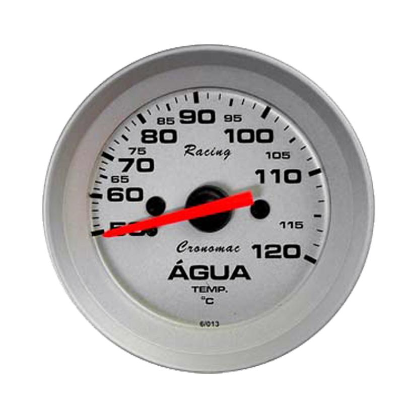Manômetro Temperatura  Água Cronomac  Racing