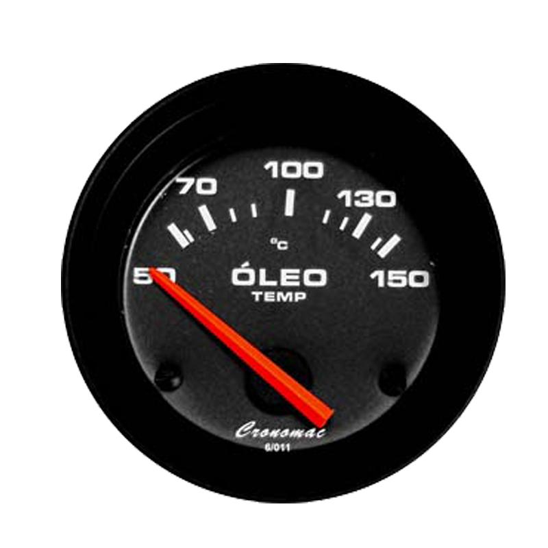 Manômetro Temperatura  Óleo Cronomac Street