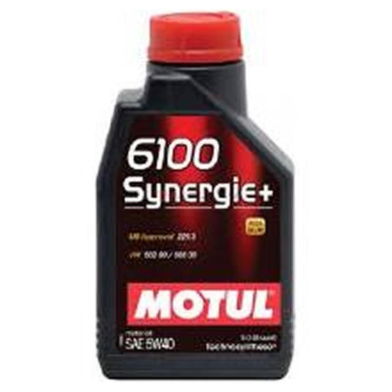 Óleo Lubrificante para o Motor Motul 6100 SYNERGIE PLUS 5W40