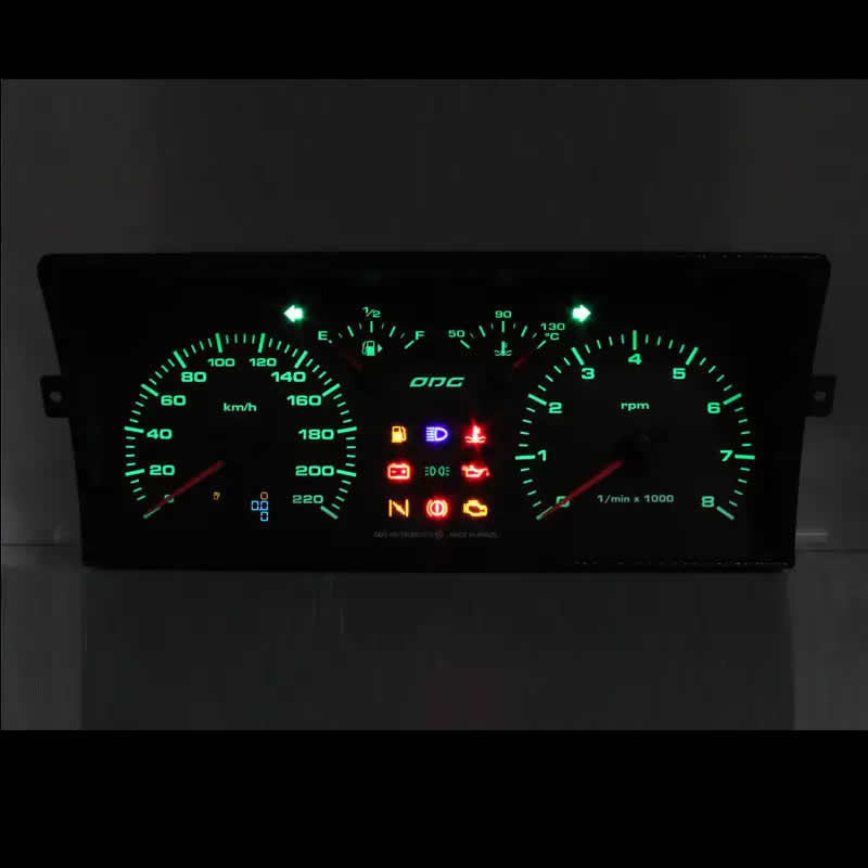 Painel Gol - Parati - Saveiro - Voyage VW G1 DO ANO  88 A 94 - Versão 220 KM 8.000 RPM - ODG