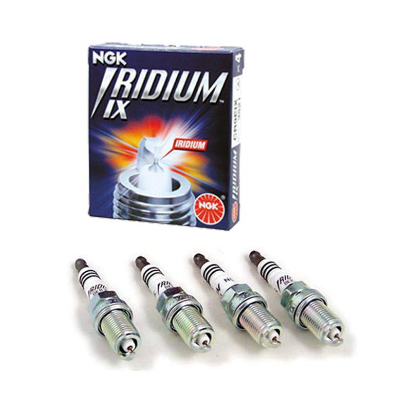Vela Ignição Br9eix   Ngk Iridium Grau 9 - 04 Unidades