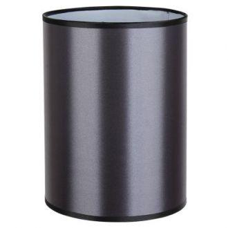 Cúpula Para Abajur Color  Metal e Tecido - Cor Cinza