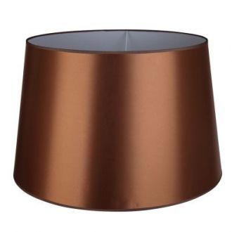 Cúpula Para Abajur Color  Metal e Tecido - Cor Dourado