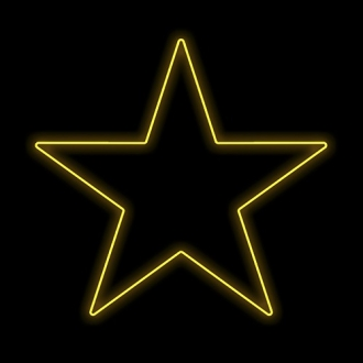 Figura Natalina Luminosa Estrelas de Jardim FIG-012A