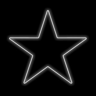 Figura Natalina Luminosa Estrelas de Jardim FIG-012B