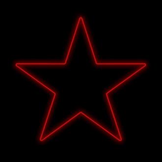 Figura Natalina Luminosa Estrelas de Jardim FIG-012C