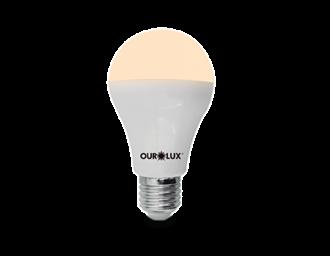 Lâmpada de LED Bulbo Ouro 4.7W Bivolt 3000k