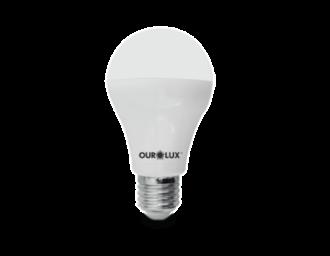 Lâmpada de LED Bulbo Ouro 9W Bivolt 6500k
