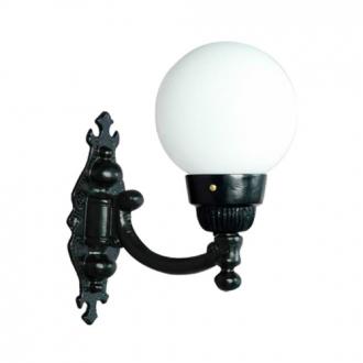 Luminária Colonial Decorativa Para Parede com Braço Globo Pequeno I