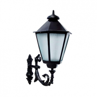 Luminária Colonial Decorativa Para Parede com Braço Italiana Grande