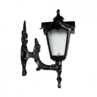 Luminária Colonial Decorativa Para Parede com Braço Madri Menor