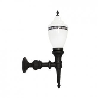 Luminária Colonial Decorativa Para Parede com Braço Republicana Grande