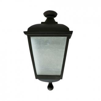 Luminária Colonial Decorativa Para Parede Meia Cara Galena